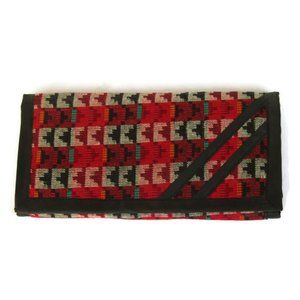 Womens Wallet Boho Hippie Handmade Snap Stud Close